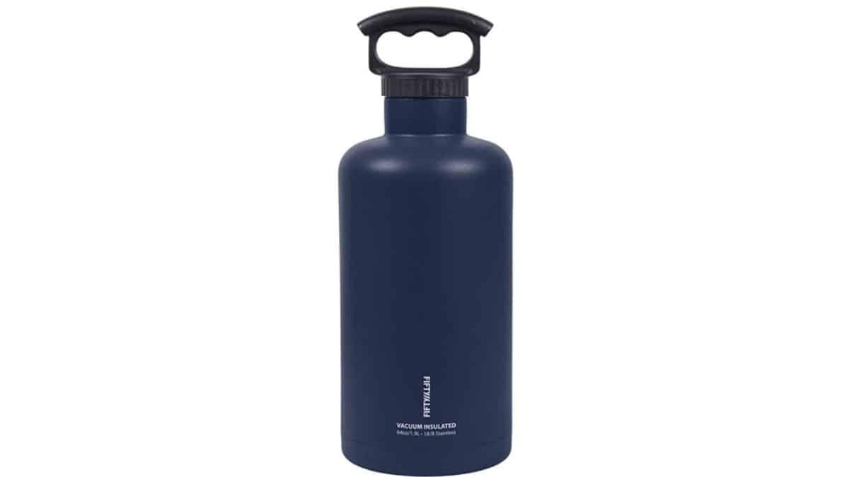 Fifty Fifty Growler bottle