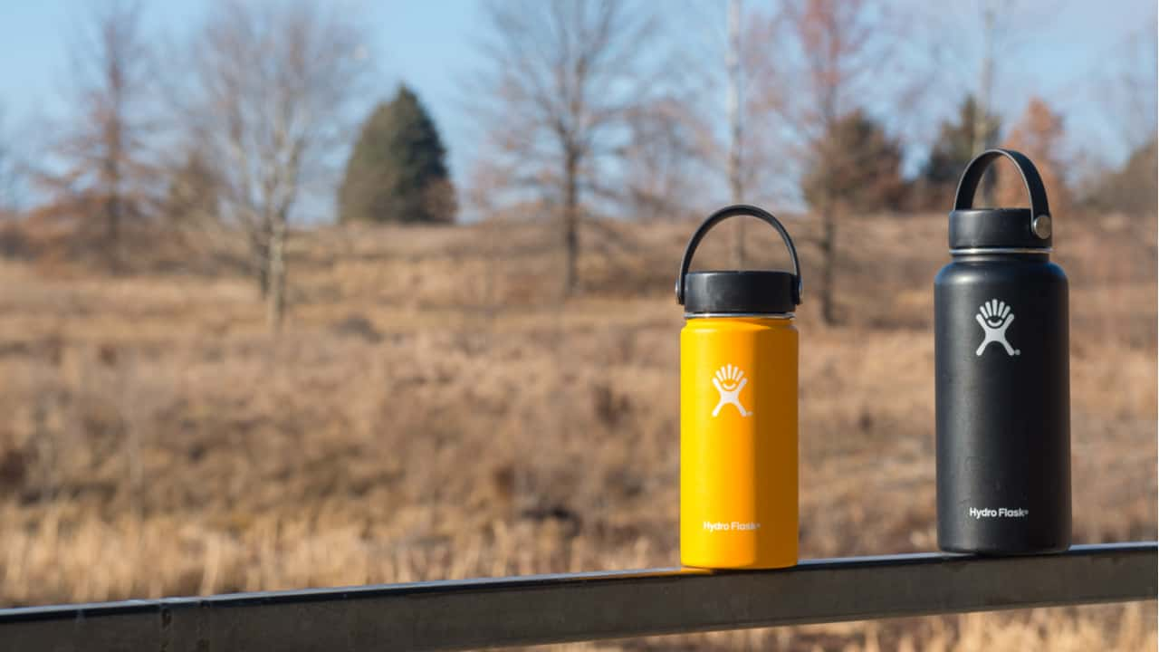 Hydro Flask bottles