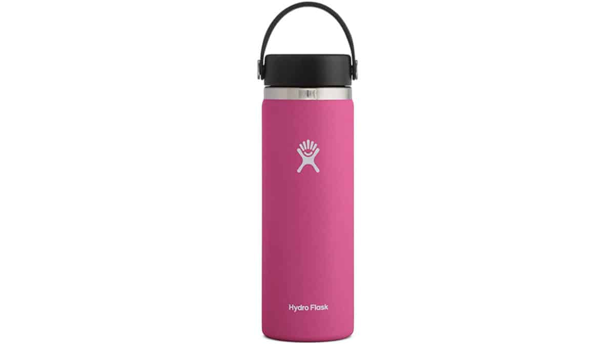 Hydro Flask reusable wide-mouth bottle