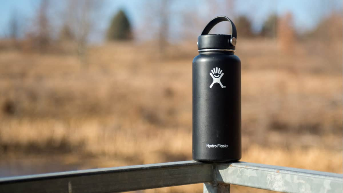 Hydro Flask stainless steel bottle
