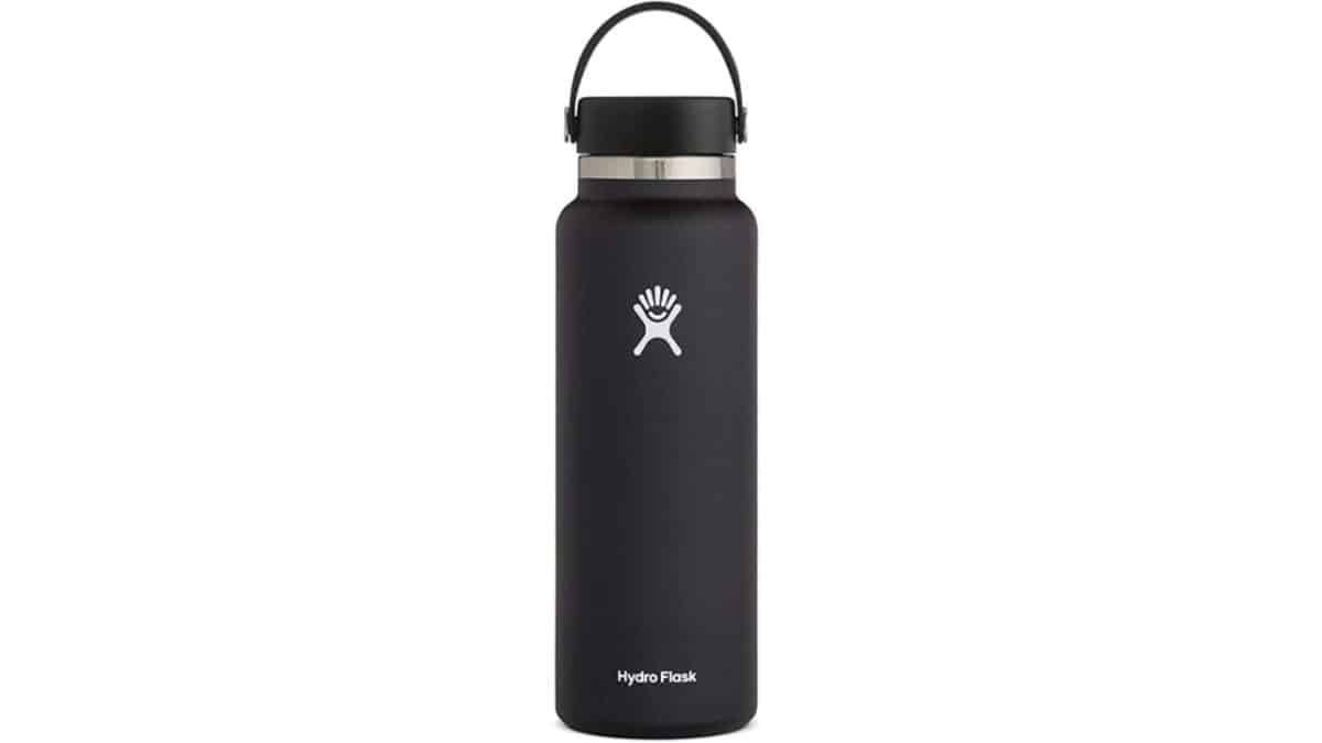 New Hydro Flask wide-mouth bottle