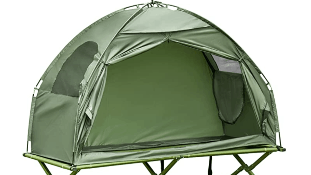 Outsunny cot tent combo