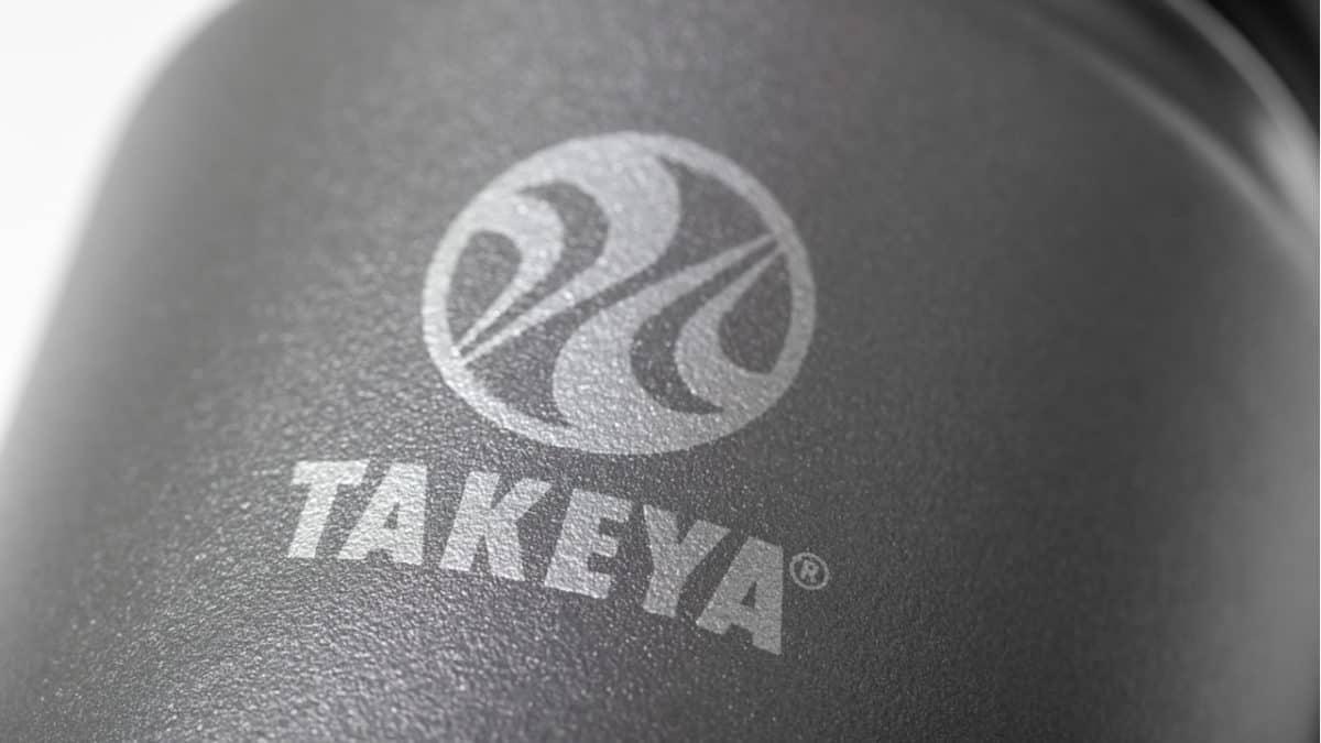 Close-up of a Takeya bottle